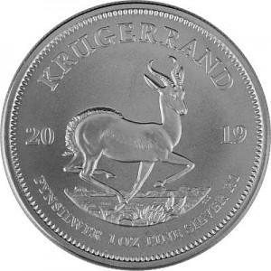 Krugerrand 1oz Silver - 2019