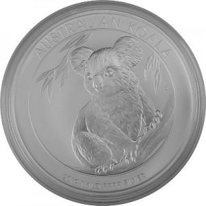 Koala 1kg Silver - 2019