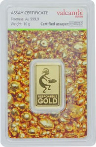 Gold Bar 10g - Auropelli Responsible-Gold