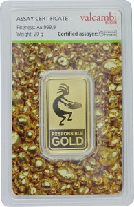 Gold Bar 20g - Auropelli Responsible-Gold