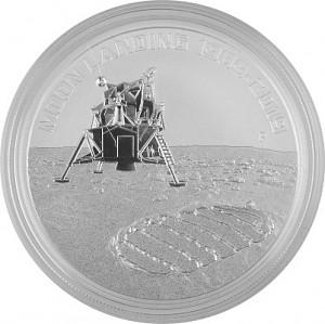Australia Apollo 11 - 50 years moon landing 1oz Silver - 2019