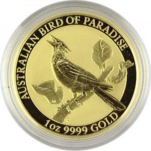 Birds of Paradise - Manucodia Bird of Paradise 1oz Gold - 2019