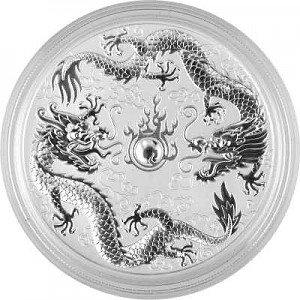 Dragon and Dragon 1oz Silver - 2019