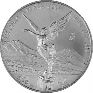 Mexican Libertad 1/2oz Silver - 2001 B-Stock