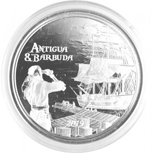 Antigua & Barbuda Rum Runner 1oz Silver - 2019