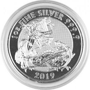 Great Britain Valiant 1oz Silver - 2019