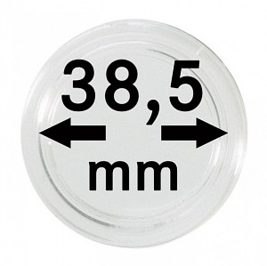 Coin Capsules 38,5mm, 1 Piece