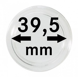 Coin Capsules 39,5mm, 1 Piece
