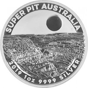 Australia Super Pit 1oz Silver - 2019