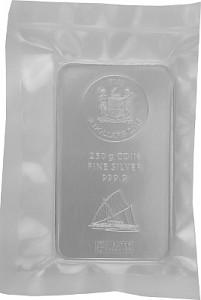 Fiji Argor Heraeus Coin Bar 250g Silver - 2015