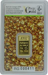 Gold Bar 5g - Auropelli Responsible-Gold