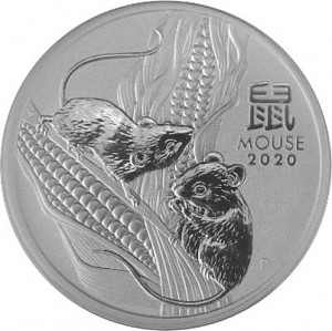 Lunar III Year of the Mouse 1oz Silver - 2020