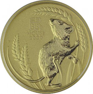 Lunar III Year of the Mouse 1oz Gold - 2020