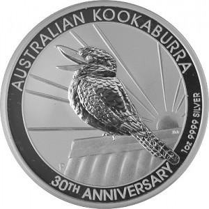 Kookaburra 1oz Silver - 2020