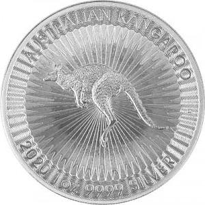 Australian Kangaroo 1oz Silver - 2020