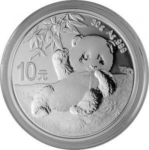 China Panda 30g Silver - 2020