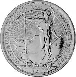 Britannia 1oz Silver - 2020