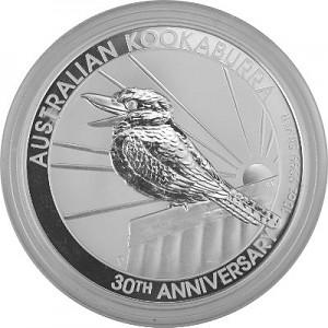 Kookaburra 10oz Silver - 2020