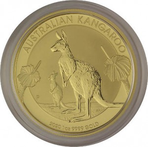 Australian Kangaroo 1oz Gold - 2020