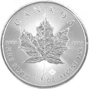 Maple Leaf 1oz Silver - 2020