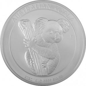 Koala 1kg Silver - 2020