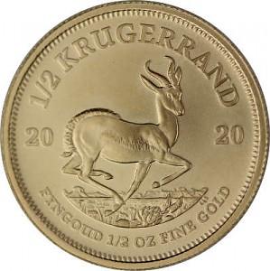 Krugerrand 1/2oz Gold - 2020
