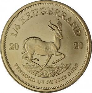 Krugerrand 1/4oz Gold - 2020