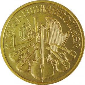 Vienna Philharmonic 1/4oz Gold - 2020