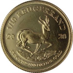 Krügerrand 1/10oz Gold - 2020
