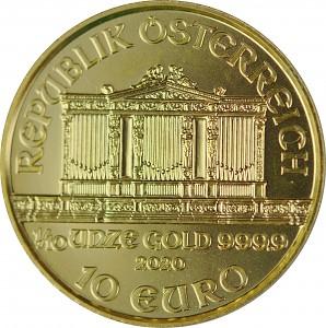 Vienna Philharmonic 1/10oz Gold - 2020