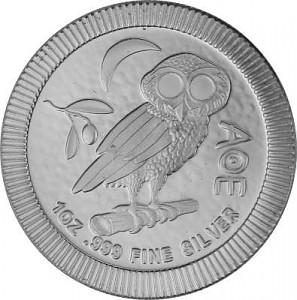 Niue Athenian Owl 1oz Silver - 2020