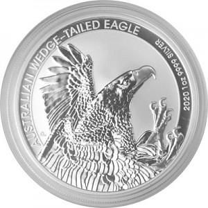 Australian Wedge Tailed Eagle 1oz Silver - 2020
