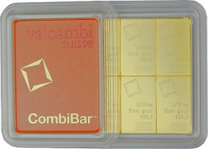 Gold Bar - CombiBar 1oz (10x1/10oz) Gold