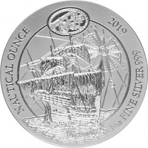 Rwanda Nautical Series - 500 years of Victoria 1oz Silver - 2019 (standard taxation)