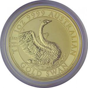 Australian Swan 1oz Gold - 2020