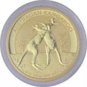 Australian Kangaroo 1/2oz Gold - 2010