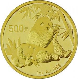 Chinese Panda 1oz Gold - 2007