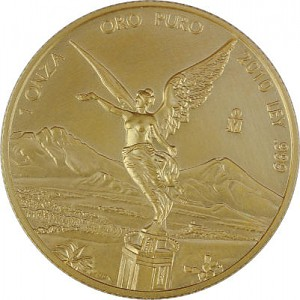 Mexican Libertad 1oz Gold - 2010