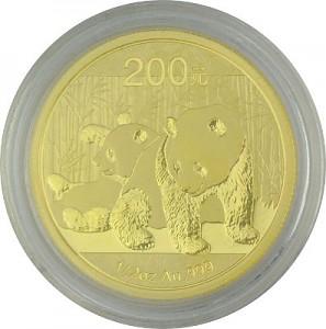 Chinese Panda 1/2oz Gold - 2010