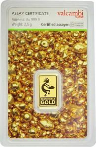 Gold Bar 2,5g - Auropelli Responsible-Gold