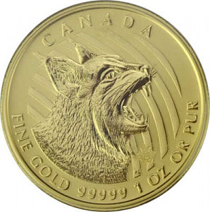 Call of the Wild - Bobcat 1oz Gold - 2020