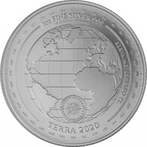 Tokelau Terra Erth 1oz Silver - 2020