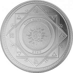 Tokelau Vivat Humanitas 1oz Silver - 2020