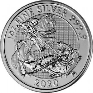 Great Britain Valiant 1oz Silver - 2020