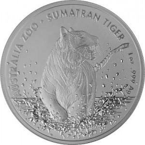 Australia Sumatra Tiger RAM (Zoo series) 1oz Silver - 2020
