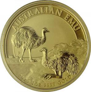 Australia Emu 1oz Gold - 2020