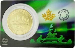 Canada 150 years Voyageur 1oz Gold - 2017