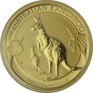 Australian Kangaroo 1/10oz Gold - 2020
