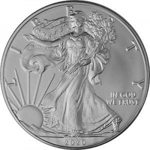 American Eagle 1oz Silver - 2020