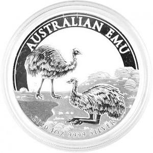 Emu Australia 1oz Silver - 2020